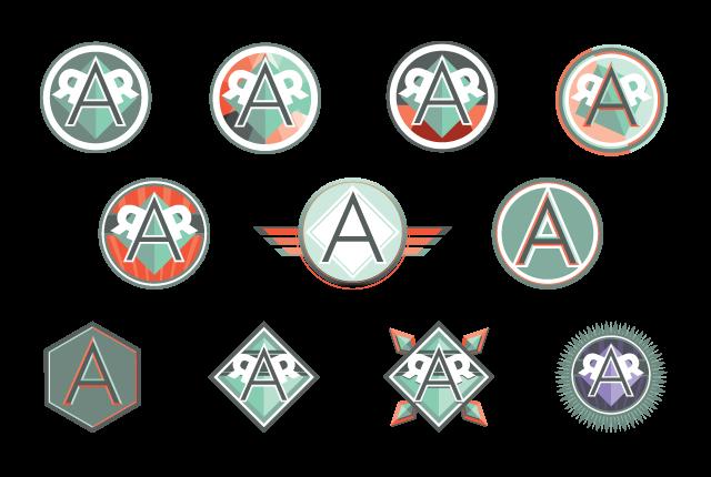 personal branding 2d logos